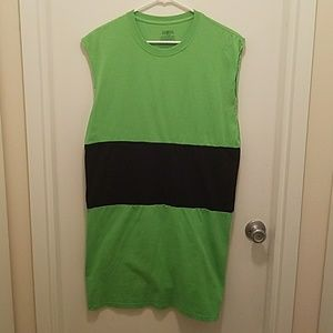 Other - Female Large Homemade Powder Puff Green Costume